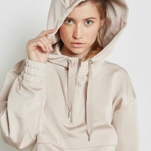 Ivy Park Rare SOLD OUT Satin Cropped Hoodie